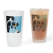 lunar landing Drinking Glass