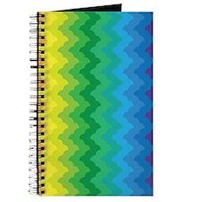 Chevron Rainbow Zigzag Journal