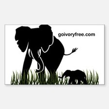 Elephant Lover Decal
