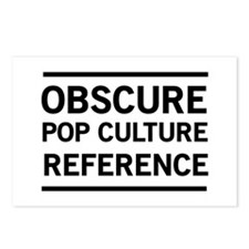 Obscure Pop Culture Reference Postcards (Package o