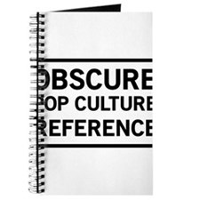 Obscure Pop Culture Reference Journal