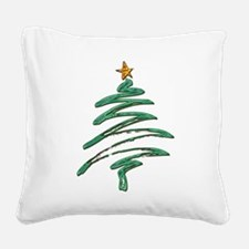 Cute Seasonal holidays Square Canvas Pillow
