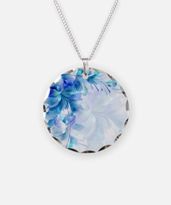 Funny Blue Necklace