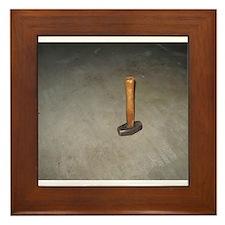 Sledgehammer Framed Tile