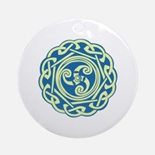 Celtic Spiral Ornament (Round)