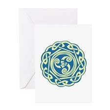Celtic Spiral Greeting Cards