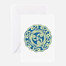 Celtic Spiral Greeting Cards