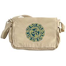 Celtic Spiral Messenger Bag