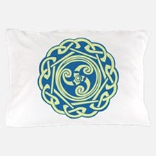 Celtic Spiral Pillow Case