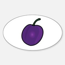 Plum Decal