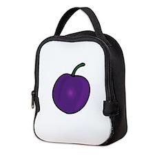 Plum Neoprene Lunch Bag