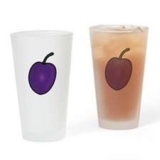 Plum Drinking Glass