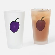 Plum Drinking Glass