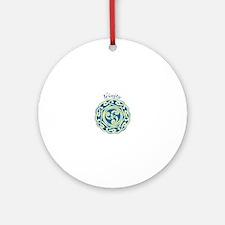Celtic Trinity Ornament (Round)