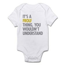 Its A Frolf Thing Infant Bodysuit