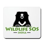 Wildlife SOS Mousepad