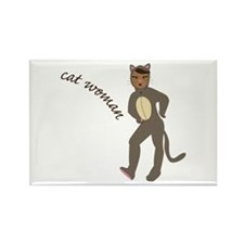 Cat Woman Magnets