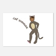 Cat Woman Postcards (Package of 8)