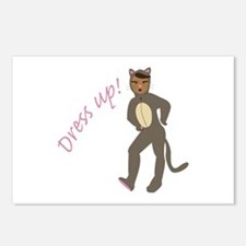 Dress Up Postcards (Package of 8)