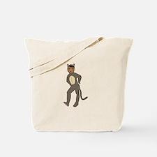 Cat Suit Tote Bag