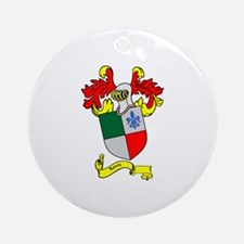 ROSSI 1 Coat of Arms Ornament (Round)