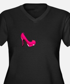 Keep your heels high Plus Size T-Shirt