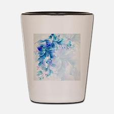 Unique Floral Shot Glass
