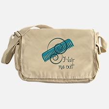 Hair Me Out Messenger Bag