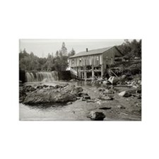Old Mill in the Adirondacks, 1903 Rectangle Magnet