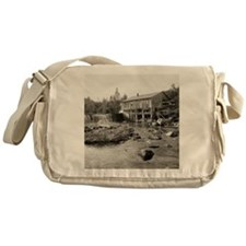 Old Mill in the Adirondacks, 1903 Messenger Bag