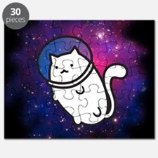 Fat Cat in Space Puzzle