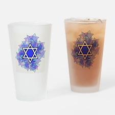 Star of David Drinking Glass