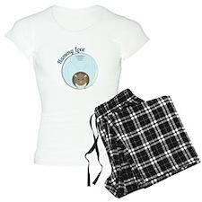 Hammy Love Pajamas