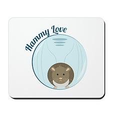 Hammy Love Mousepad