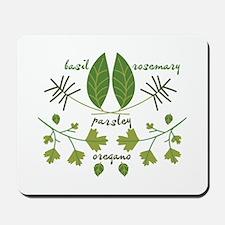 Various Herbs Mousepad