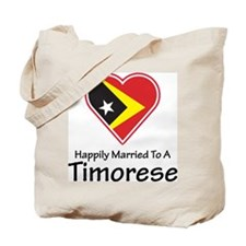 Happily Married Timorese Tote Bag