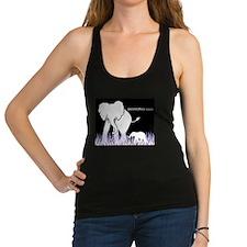 Elephant Lover Racerback Tank Top