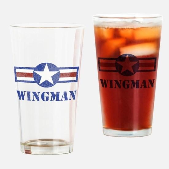 Wingman Drinking Glass