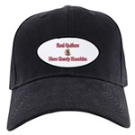 Quilters Gnarly Knuckles Black Cap