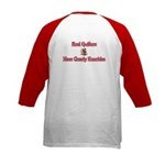 Quilters Gnarly Knuckles Kids Baseball Jersey