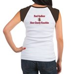 Quilters Gnarly Knuckles Women's Cap Sleeve T-Shir