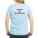 Quilters Gnarly Knuckles Women's Light T-Shirt