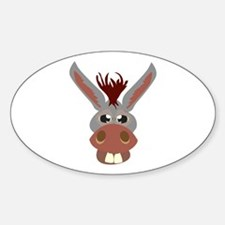 Donkey Face Decal