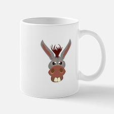 Donkey Face Mugs