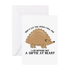 Softie at Heart Greeting Cards
