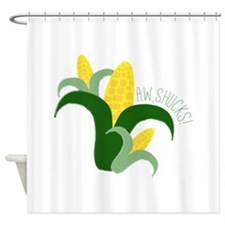 Aw, Shucks! Shower Curtain