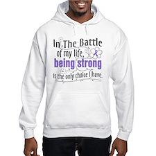 Hodgkins Lymphoma Battle Hoodie