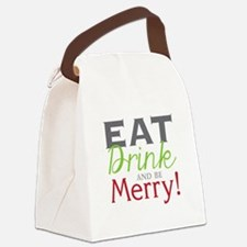 Be Merry! Canvas Lunch Bag