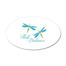 Find Balance Wall Decal