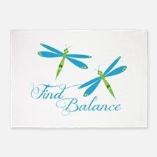 Find Balance 5'x7'Area Rug